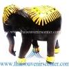 ของขวัญเกษียณอายุ ช้างแกะสลัก ช้างทรงเครื่องเดินเส้น แบบ XL (6 นิ้ว)
