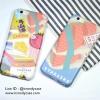 iPhone 6, 6s - เคส sushi salmon Buffet