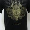 เสื้อลายไทย Linethai T-shirt ลายนารายณ์ทรงสุบรรณ (line King Rama IX Royal Bange)