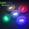 หมุดทางเดินโซล่าเซลล์ 3 LED