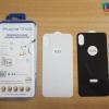 iPhone X (เต็มจอ/หลัง) - กระจกนิรภัย P-One 5D หลังเต็มจอ แท้