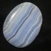 บูลเลซอาเกต ( Blue Lacc Agate )