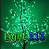 ไฟต้นไม้ ซากุระ 1.5 m 480 led สีเขียว