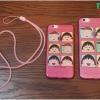 iPhone 6, 6s - เคสใส หยดน้ำ ลายมารูโกะจัง (Chibi Maruko)