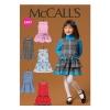แพทเทิร์นตัดชุดเดรสเด็กหญิง Mccalls 7008 Size: 2-3-4-5