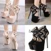 รองเท้าส้นสูง ไซต์ 35-40 สีดำ สีครีม