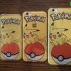 iPhone 5 / 5s / SE - เคสใสลายปิกาจู Pikachu Pokeball Pokemon