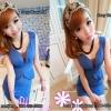 Sexy Dress 54 น้ำเงิน