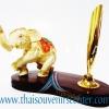 สินค้าพรีเมี่ยม ช้างทรงเครื่องกับที่เสียบปากกา แบบที่ 24