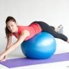 หุ่นเฟิร์ม เป็นคนใหม่ด้วยลูกบอลโยคะ (Fitness Ball) ขนาด 65cm สีน้ำเงิน