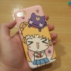 iPhone 8 / 7 - เคส TPU ลาย Sailor moon Cartoon