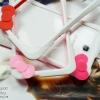 Samsung Galaxy Note2 - เคส Bumper ซิลิโคน Hello Kitty