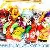 ของขวัญไทย ตุ๊กตาชาวเขา (แพ็ค 5 ตัว) ตัวเล็ก