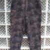 กางเกงแฟชั่น ผ้าลูกฟูก ขา4 ส่วน สีดำ-กรมท่า มีลวดลายเก๋ไก๋ ยี่ห้อ LIGHTMAN เนื้อผ้านิ่มใส่สบาย