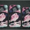 iPhone 7 - เคสปิดขอบ ลายนกฟลามิงโก (Greater flamingo)
