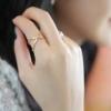 แหวนไขว้ รูป X พร้อมส่ง