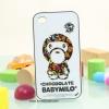 iPhone 4, 4S - เคส Face Idea ลาย ลิงยืน BABYMILO
