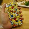 เคสนิ่ม TPU ลาย The Simpsons - iPhone 6