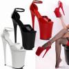 รองเท้าแฟชั่นสีดำ/แดง/ขาว ไซต์ 34-42