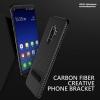 Samsung S9 Plus - เคส TPU ลายเคฟล่า Carbon พร้อมขาตั้ง TOTU DESIGN แท้