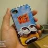iPhone 4, 4S - เคส Face Idea ลาย Minion มองท้องฟ้า