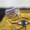 แหวนเงินสัญลักษณ์ดวงตาฮอรัส ( Horus )