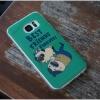 Samsung Galaxy S7 Edge - เคส TPU เงาวับ ลายการ์ตูน หมาปั๊ก Best Friend Forever