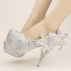 รองเท้าเจ้าสาวสีเงิน ไซต์ 34-39