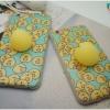 iPhone 5, 5s, SE - เคส TPU หลังนุ่มนิ่ม 3D ลายกุ๊กไก่เหลือง