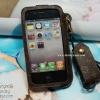 เคส louis vuitton สายคล้อง - iPhone 4, 4s