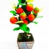ของขวัญปีใหม่ให้ผู้ใหญ่ ต้นไม้ดินปั้น แบบที่ 7 ต้นส้ม