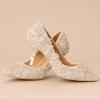 รองเท้าเจ้าสาว ไซต์ 34-39 ความสูง 7-9 CM