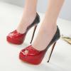 รองเท้าส้นสูงสีแดง ไซต์ 35-40