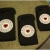 iPhone 6, 6s - เคสซิลิโคน ลายโทรศัพท์หมุน