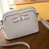 J25-กระเป๋าสะพายติดโบว์- สีเทา