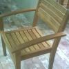 เก้าอี้แบบพนักพิงและฐานนั่งโค้ง