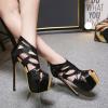 รองเท้าส้นสูงสีดำ ไซต์ 34-40