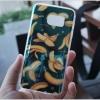 Samsung Galaxy S7 - เคส TPU เงาวับ ลายการ์ตูน กล้วย