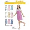 แพทเทิร์นตัดเสื้อผ้าวัยรุ่นหญิง ยี่ห้อ Simplicity (1457) ไซส์ 8-10-12-14-16