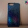 iPhone 7 - เคสลายตาราง สีน้ำเงินเลื่อม