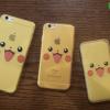 iPhone 6, 6s - เคสใสลายปิกาจู Pikachu Face Pokemon