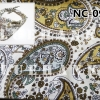 NC098 ผ้าพันคอลายเพลสลี่หยดน้ำ ผืนใหญ่ใช้คาดหัว พันคอ