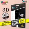 iPhone X (เต็มจอ/3D) - กระจกนิรภัย FULL FRAME FOCUS แท้