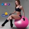 ลูกบอลโยคะนวดกาย บริหารกาย 65cm สีชมพู
