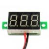 "Mini Digital Voltmeter DC 4.5-30V Voltage Meter Voltmeter 4.5-30V ดิจิตอล โวลต์มิเตอร์ 4.5-30V สีเหลือง ขนาด 0.3a"""