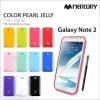 Samsung Galaxy Note2 - เคส TPU Mercury Jelly Case (GOOSPERY) แท้