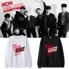 เสื้อแขนยาว iKON NEW KIDS CONTINUE Logo -ระบุสี/ไซต์-