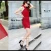 Sexy Dress 23 สีแดง