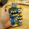 iPhone 6 / 6s - เคสนิ่ม TPU ลาย Bat Man