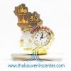 ของพรีเมี่ยม ของที่ระลึกไทย นาฬิกา แบบ 28 สีทองผสมเงิน
